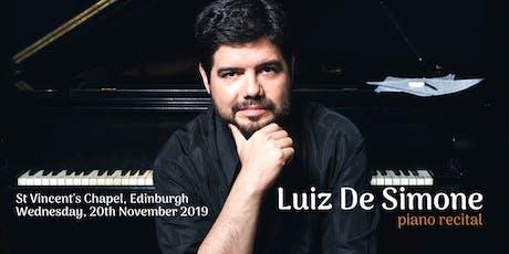 Luiz De Simone piano recital - La Liberté tickets