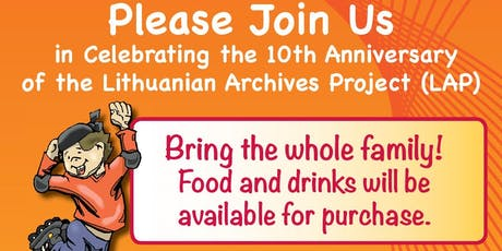 Lithuanian Archives Project 10th Annual Fundraiser Party tickets