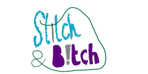Stitch and Bitch - get-together for people who like to craft in a bar
