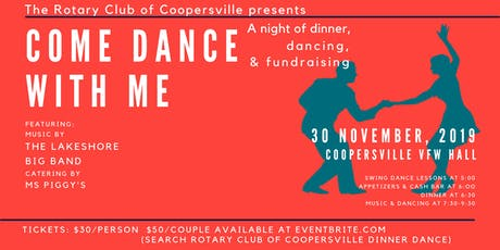 Rotary Club of Coopersville Dinner Dance tickets