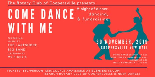 Rotary Club of Coopersville Dinner Dance