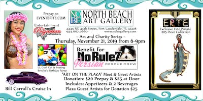 November Call For Artists - Evening of Art & Charity Benefit for No RuleZ Persian Cat Rescue Crew