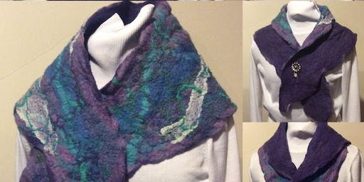 Felted Collar or Neck Warmer: Tuesday, Nov 19, 9am-noon