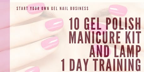 Gel nails 1 day Course for Beginners Start your own business tickets