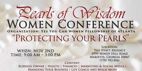 2nd Annual Pearls of Wisdom Women's Conference tickets