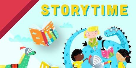 Storytime: Holiday Celebration billets