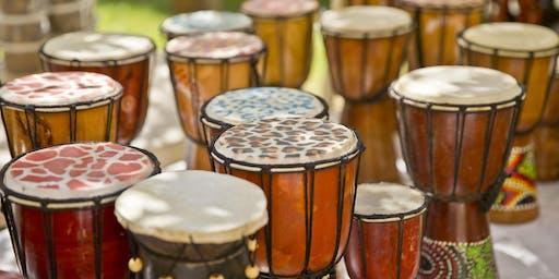 Fall Drumming Circle