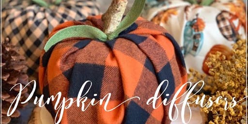 Pumpkin Diffuser Craft  Night