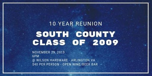 South County 10 Year Reunion