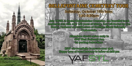 YAFSTL Tour - Bellefontaine Cemetery