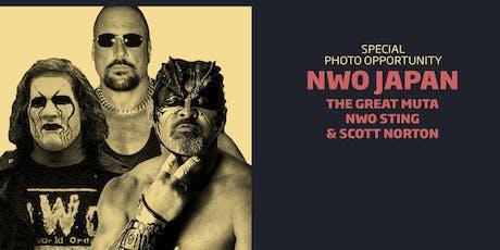 NWO Japan Meet & Greet Combo/WrestleCade FanFest 2019 tickets