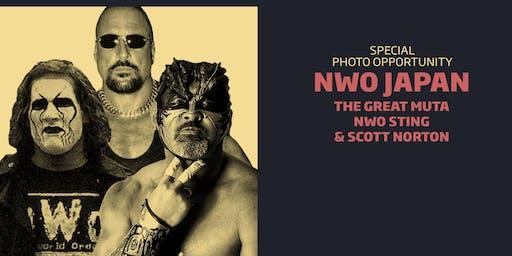 NWO Japan Meet & Greet Combo/WrestleCade FanFest 2019