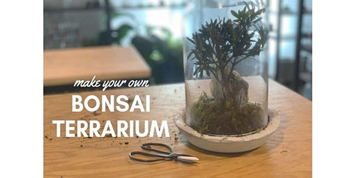 Bonsai Terrarium Workshop (Intermediate) (04-10-2020 starts at 6:00 PM)