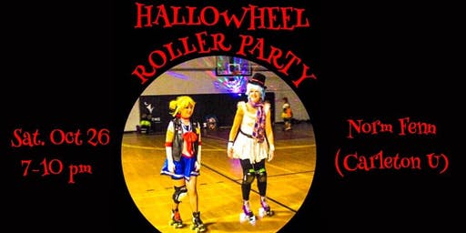 HALLOWHEEL  ROLLER PARTY, SOCIAL ROLLERSKATING WITH OTTAWA QUAD SESSION