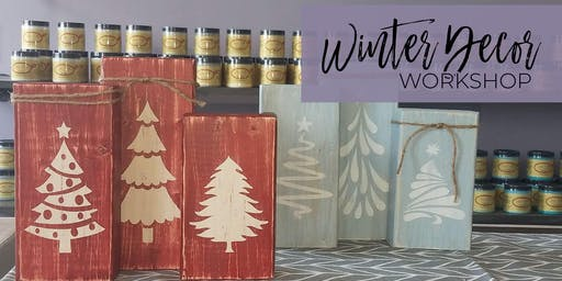 Winter Decor Workshop