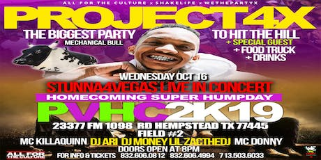 STUNNA 4 VEGAS #PROJECT4X CONCERT PARTY - PV A&M HOMECOMING SUPER HUMPDAY tickets