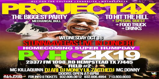 STUNNA 4 VEGAS #PROJECT4X CONCERT PARTY - PV A&M HOMECOMING SUPER HUMPDAY