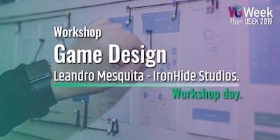 Workshop Game Design - Workshop Day VG week2019