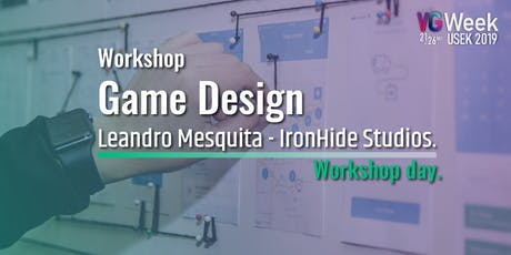 Workshop Game Design - Workshop Day VG week2019 tickets