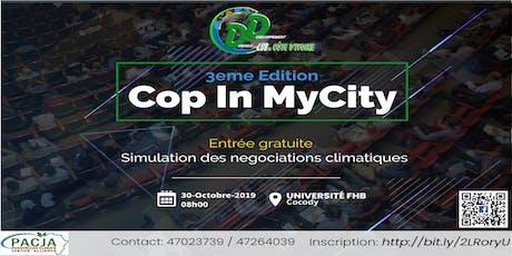 CopInMyCity Abidjan billets