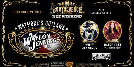 Waymore's Outlaws w/ Whey Jennings & Catherine Back (Daisy Duke) tickets