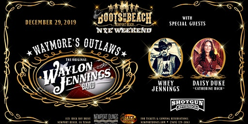 Waymore's Outlaws w/ Whey Jennings & Catherine Back (Daisy Duke)