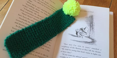 Learn to Knit and Make a Bookmark with a Pom Pom! tickets