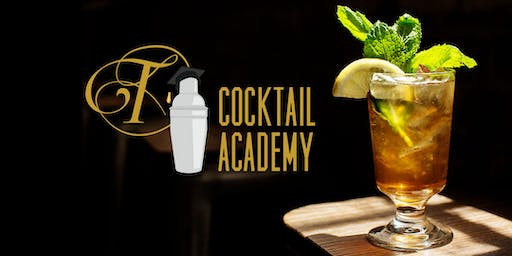 Tattersall Distilling Cocktail Academy (Winter) Tuesday 12/10/19
