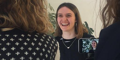 Workshop 'Vloggen voor Professionals'  (12 feb 2020)