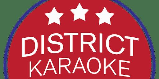 District Karaoke League Registration - Spring 2020