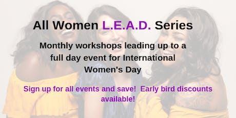 All Women L.E.A.D. Series tickets