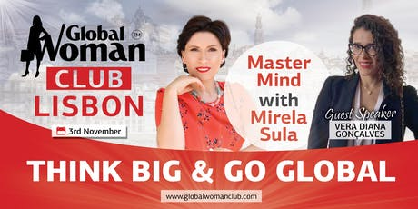MASTERMIND CLASS LISBON - THINK BIG AND GO GLOBAL tickets