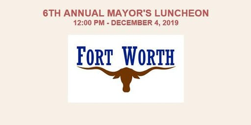 6th Annual Mayor's Luncheon