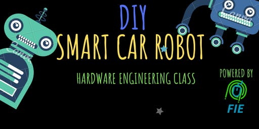 DIY SMART CAR ROBOT ENGINEERING CLASS - STEM AND ROBOTICS AGES 8-16 9:00AM