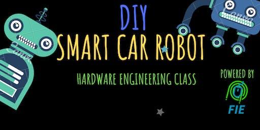DIY SMART CAR ROBOT ENGINEERING CLASS - STEM AND ROBOTICS AGES 8-16