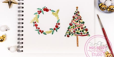Watercolor Christmas Workshop Tickets
