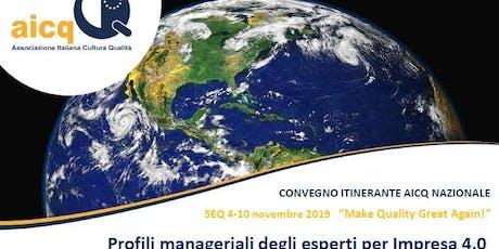 Settimana Europea della Qualità 2019 - Bologna - Giovedì 7 nov 2019 biglietti
