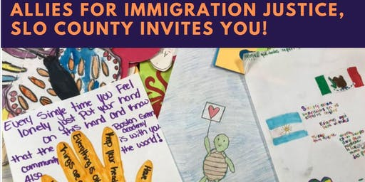 Oct 27 Allies for Immigration Justice: Letters to People in Detention