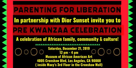 Pre Kwanzaa Celebration tickets