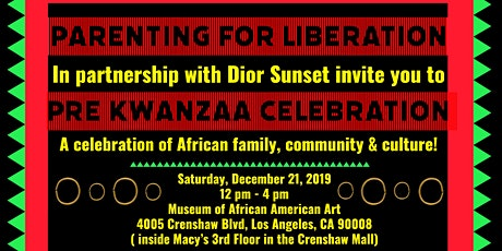 Pre Kwanzaa Celebration tickets