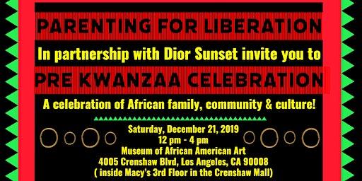Pre Kwanzaa Celebration