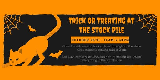 Trick Or Treat At The Stock Pile