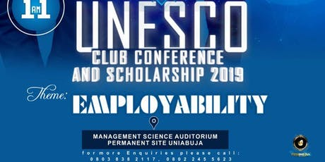 UNESCO CLUB CONFERENCE AND SCHOLARSHIP 2019 tickets