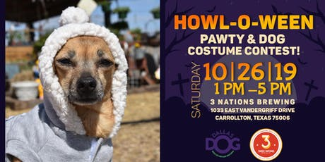 Dallas DogRRR Howl-O-ween Pawty & Dog Costume Contest tickets