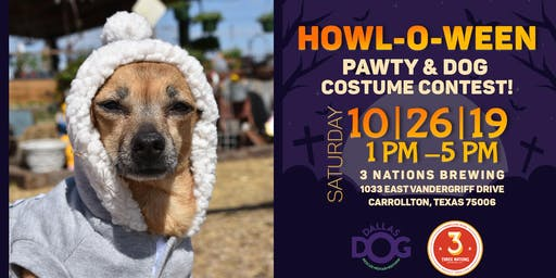 Dallas DogRRR Howl-O-ween Pawty & Dog Costume Contest