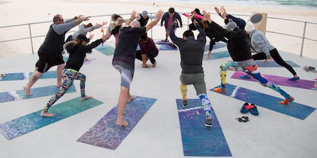 Mates on Mats  - Monthly Yoga class on Bondi Beach tickets