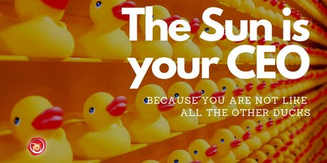 The Sun is Your CEO - Branding Cosmology for Purpose-driven Businesses tickets