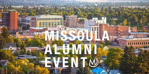 Missoula Alumni October Social