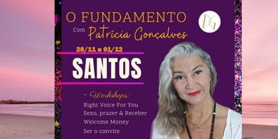 Workshops Rigth voice for You Intro com Patrícia Gonçalves em Santos sp