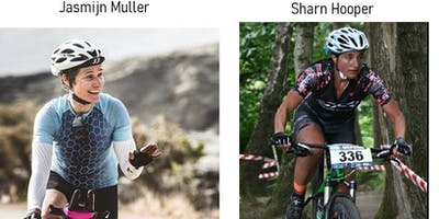 Womens cycling.  From fun to elite with Jasmijn Muller and Sharn Hooper